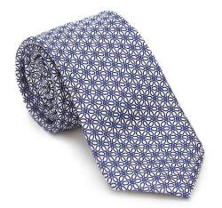 Tie, blue-white, 87-7K-001-X3, Photo 1