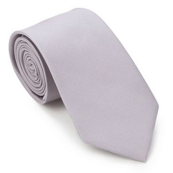 Tie, light grey, 87-7K-002-8, Photo 1