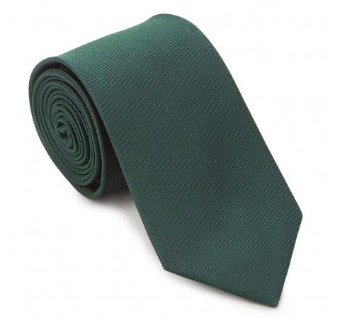 Krawat, zielony, 87-7K-002-Z, Zdjęcie 1