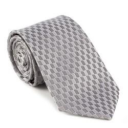 Krawat, srebrny, 88-7K-001-X5, Zdjęcie 1
