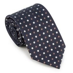 Krawat, multikolor, 89-7K-001-X7, Zdjęcie 1
