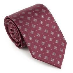 Krawat, bordowy, 89-7K-001-X9, Zdjęcie 1