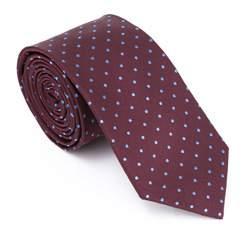 Krawat, fioletowy, 83-7K-007-2, Zdjęcie 1