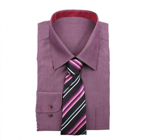 Krawat, multikolor, KR-7-001-111, Zdjęcie 2