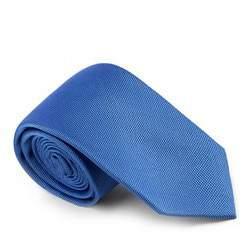 Krawat, niebieski, 81-7K-005-95, Zdjęcie 1