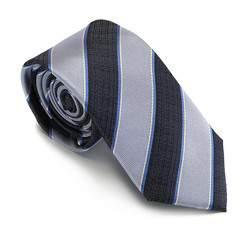 Krawat, multikolor, 81-7K-008-01, Zdjęcie 1