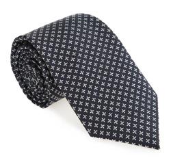 Tie, navy blue-blue, 85-7K-002-X1, Photo 1