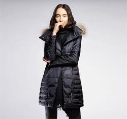 Kurtka damska, czarny, 85-9D-303-1-XL, Zdjęcie 1