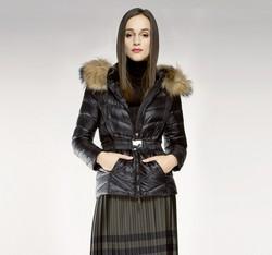 Kurtka damska, czarny, 85-9D-306-1-L, Zdjęcie 1