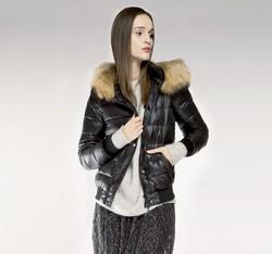 Women's jacket, black, 85-9D-307-1-L, Photo 1