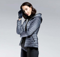 Women's jacket, grey, 85-9N-101-1-S, Photo 1