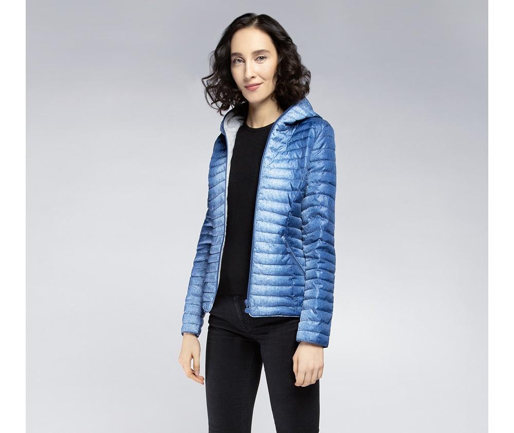 Женская куртка Wittchen 85-9N-101-7, голубойЖенская куртка Wittchen 85-9N-101-7, голубой<br><br>секс: женщина<br>Цвет: голубой<br>Размер INT: XXL<br>материал:: Полиэстер<br>подкладка:: хлопок<br>примерная общая длина (см):: 85