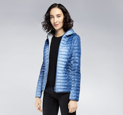 Women's jacket, blue, 85-9N-101-7-M, Photo 1
