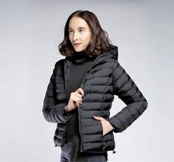Women's jacket, black, 85-9N-102-1-L, Photo 1