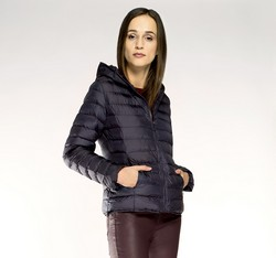 Women's jacket, navy blue, 85-9N-102-7-XL, Photo 1
