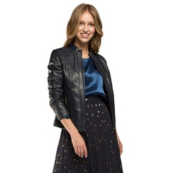 Women's jacket, navy blue, 86-09-200-7-XL, Photo 1