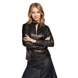 Women's jacket, black, 86-09-203-1-M, Photo 1