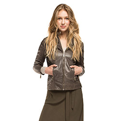 Women's jacket, grey, 86-09-203-8-S, Photo 1