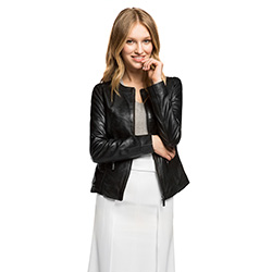 Women's jacket, black, 86-09-204-1-L, Photo 1