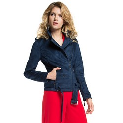 Women's jacket, navy blue, 86-9P-100-7-L, Photo 1