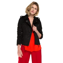 Women's jacket, black, 86-9P-101-1-XL, Photo 1
