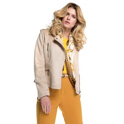 Women's jacket, beige, 86-9P-101-5-M, Photo 1
