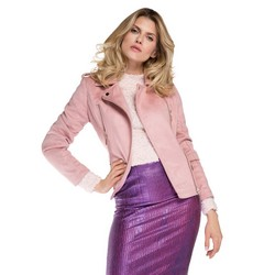 Women's jacket, pink, 86-9P-101-P-XL, Photo 1