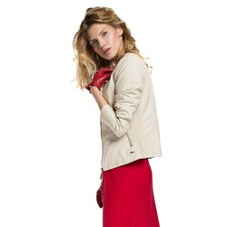 Women's jacket, ecru, 86-9P-102-9-XL, Photo 1
