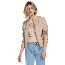 Women's jacket, beige, 86-9P-103-9-S, Photo 1