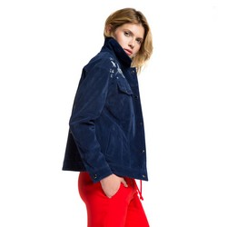 Women's jacket, navy blue, 86-9P-105-7-2X, Photo 1