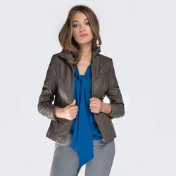 Women's jacket, grey, 87-09-201-8-M, Photo 1
