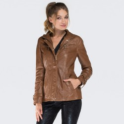 Women's jacket, brown, 87-09-202-5-M, Photo 1