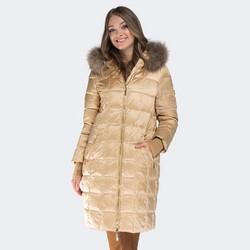 Women's jacket, light beige, 87-9D-402-9-M, Photo 1