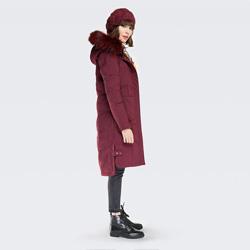 Women's jacket, burgundy, 87-9D-502-2-L, Photo 1