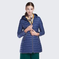 Women's coat, blue, 87-9N-100-N-XL, Photo 1