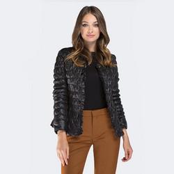 Women's jacket, black, 87-9N-406-1-L, Photo 1