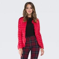 Women's jacket, red, 87-9N-406-3-XL, Photo 1