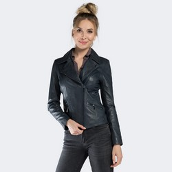 Women's jacket, navy blue, 90-09-205-7-S, Photo 1