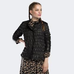 Kurtka damska, czarny, 90-9N-400-1-L, Zdjęcie 1