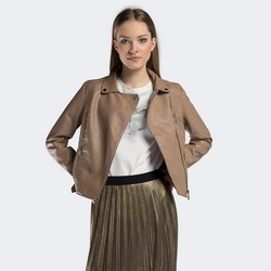 Women's jacket, beige, 90-9P-100-9-M, Photo 1
