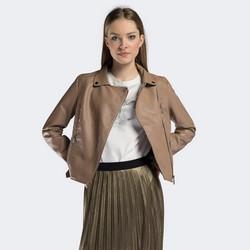 Kurtka damska, beżowy, 90-9P-100-9-XL, Zdjęcie 1