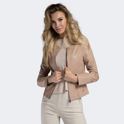 Women's jacket, beige, 90-9P-101-P-XS, Photo 1