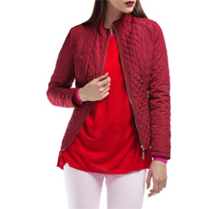 Women's jacket, red, 84-9N-110-2-L, Photo 1