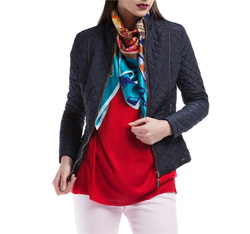 Women's jacket, navy blue, 84-9N-110-7-S, Photo 1