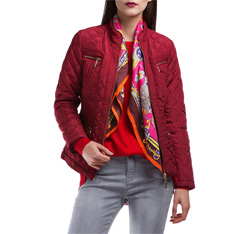Women's jacket, red, 84-9N-111-2-M, Photo 1
