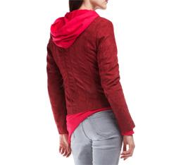 Kurtka damska, czerwony, 84-9P-107-2-2X, Zdjęcie 1