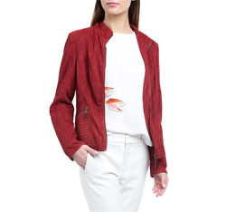 Kurtka damska, czerwony, 84-9P-108-2-L, Zdjęcie 1