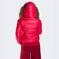 Kurtka damska, czerwony, 87-9D-404-3-M, Zdjęcie 1
