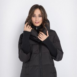 Women's jacket, black, 89-9D-404-1-L, Photo 1