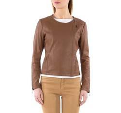 Kurtka damska, brązowy, 82-09-501-4-S, Zdjęcie 1